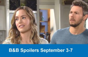 The Bold and the Beautiful Spoilers September 3-7