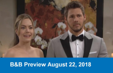 The Bold And The Beautiful Preview August 22, 2018
