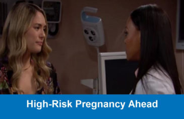 The Bold and the Beautiful Spoilers : High-Risk Pregnancy Ahead
