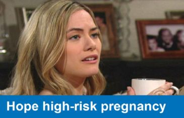 The Bold and the Beautiful spoilers : Hope high-risk pregnancy