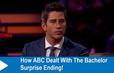 How ABC Dealt With The Bachelor Surprise Ending!
