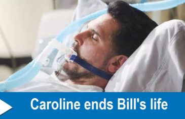 The Bold and the Beautiful Spoilers : Caroline ends Bill's life