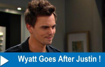 Wyatt Goes After Justin!