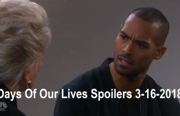 Days Of Our Lives Spoilers 3-16-2018