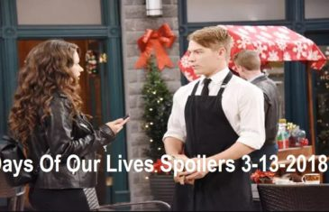 Days Of Our Lives Spoilers 3-13-2018