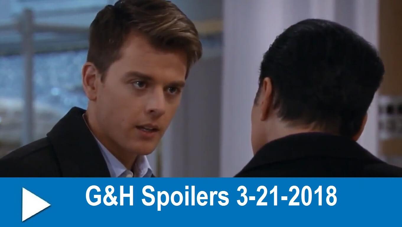 General Hospital Spoilers 3-21-2018 : Michael's Hot Date