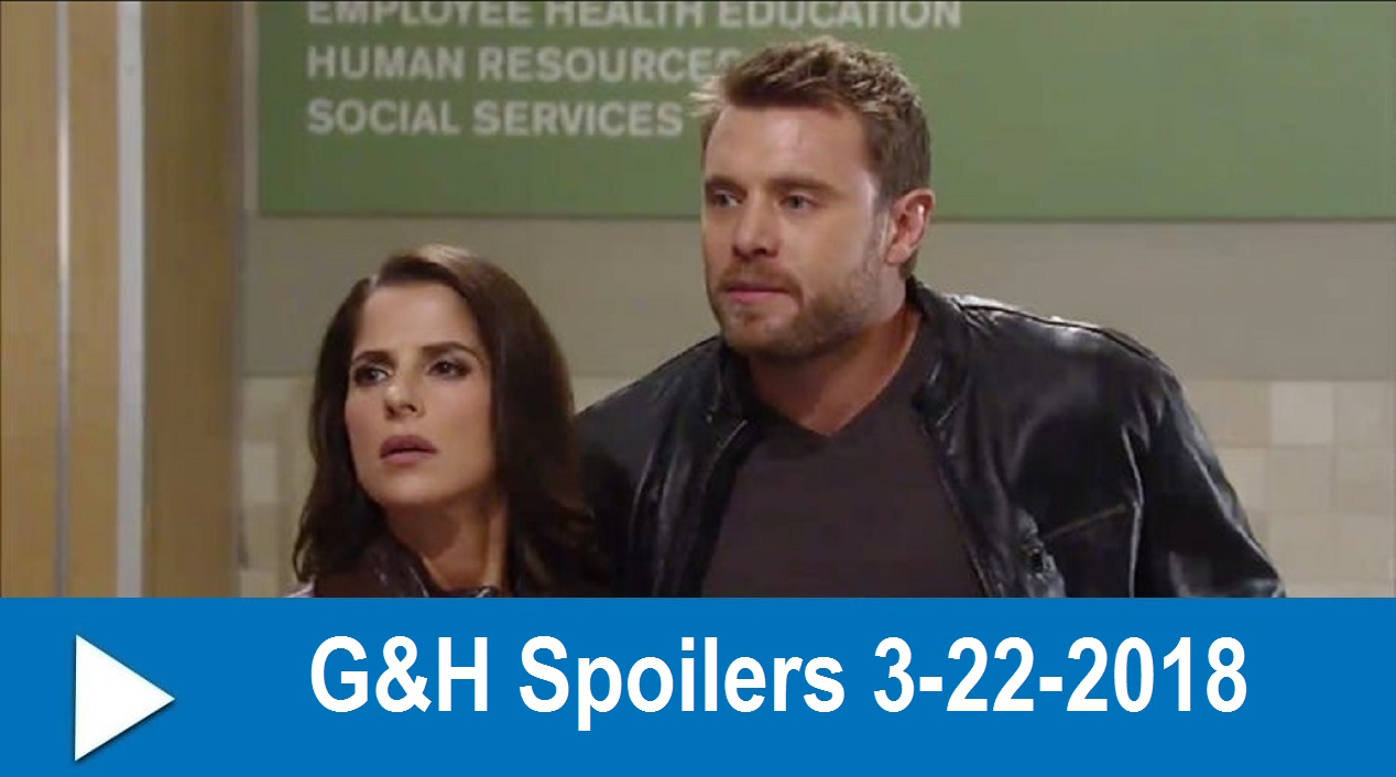 General Hospital Spoilers 3-22-2018 : Sam Pushes Drew for Answers