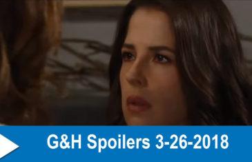 General Hospital Spoilers 3-26-2018
