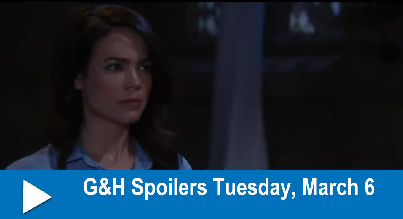 General Hospital Spoilers : Tuesday, March 6