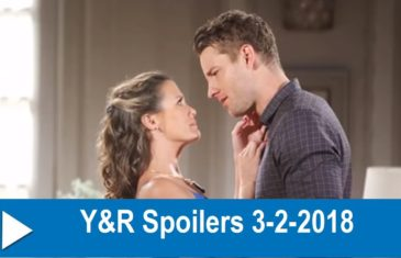 The Young and the Restless Spoilers 3-2-2018