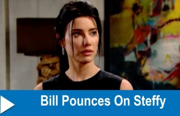 The Bold and the Beautiful Spoilers: Bill Pounces On Steffy
