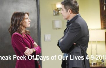 Sneak Peek Of Days of Our Lives 4-9-2018