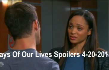 Days Of Our Lives Spoilers 4-20-2018