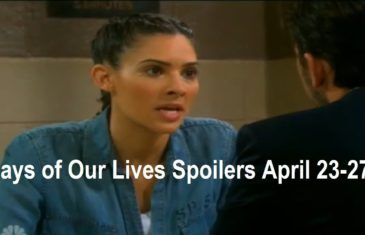 Days of Our Lives Spoilers April 23-27