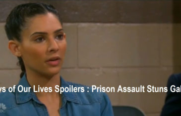 Days of Our Lives Spoilers : Prison Assault Stuns Gabi