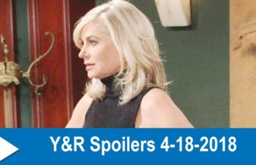 The Young and the Restless Spoilers 4-18-2018