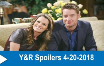 The Young and the Restless Spoilers 4-20-2018