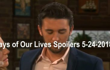 Days of Our Lives Spoilers 5-24-2018