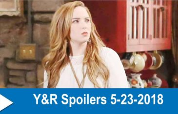 The Young and the Restless spoilers 5-23-2018