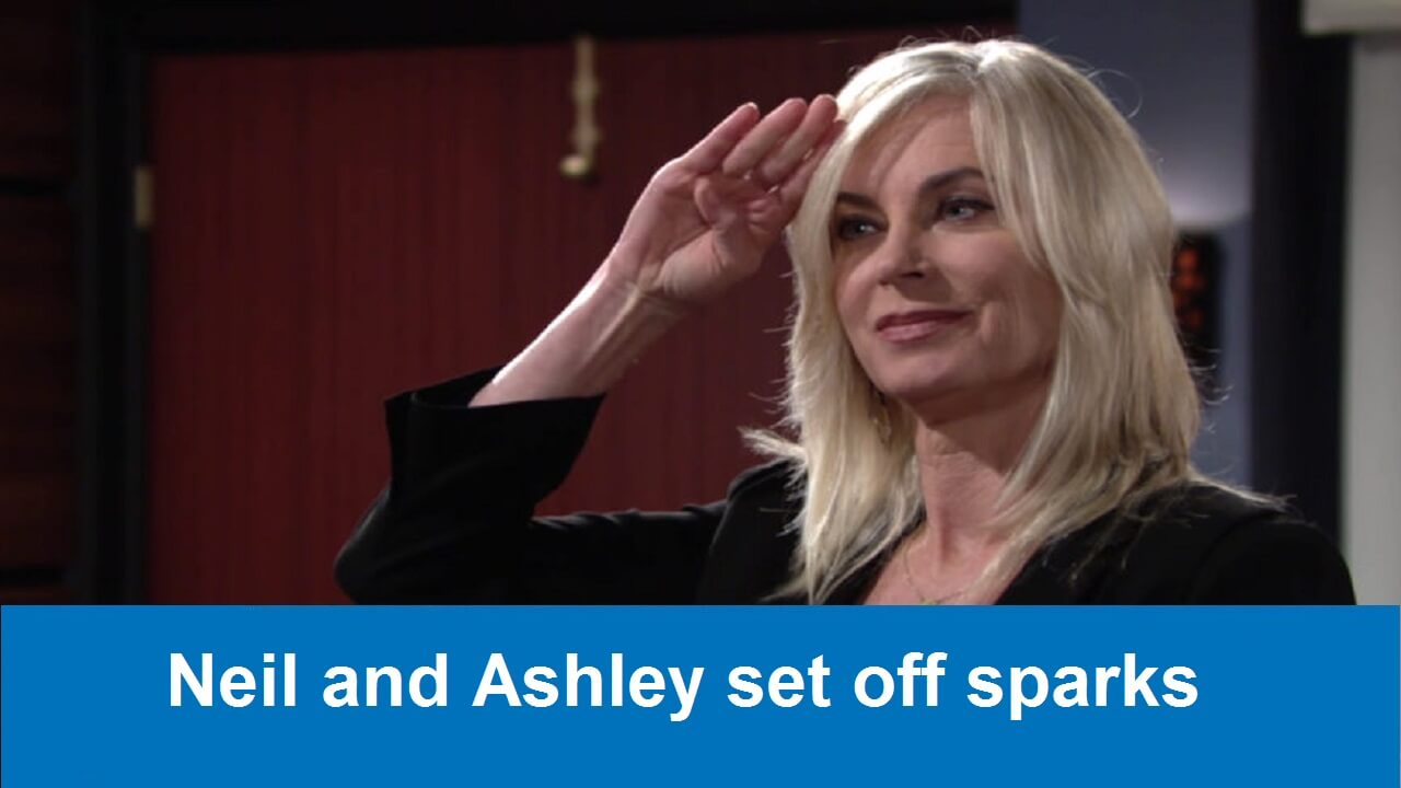 The Young and the Restless Spoilers : Neil and Ashley set off sparks