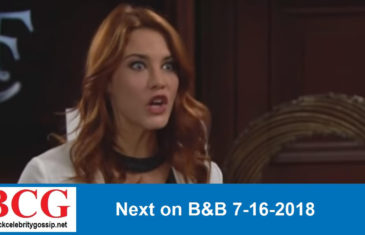 Next on The Bold and the Beautiful 7-16-2018
