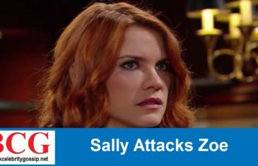 The Bold and the Beautiful Spoilers : Sally Attacks Zoe