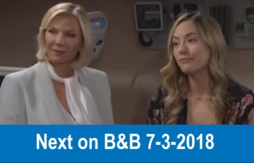Next on The Bold and the Beautiful 7-3-2018