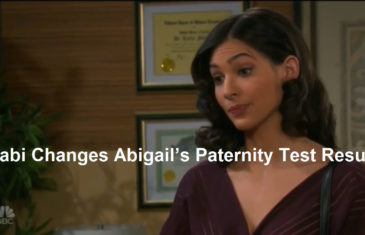 Gabi Changes Abigail's Paternity Test Results