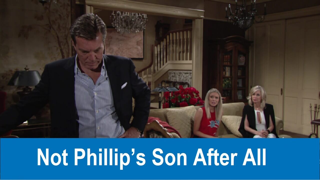 The Young and the Restless Spoilers : Not Phillip's Son After All