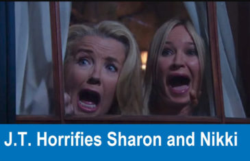 The Young and the Restless Spoilers : J.T. Horrifies Sharon and Nikki