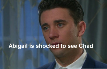 Abigail is shocked to see Chad