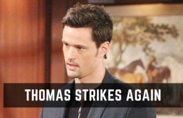 The Bold and the Beautiful Spoilers: Thomas Ruins Ridge & Brooke Marriage Again