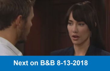 Next on The Bold and the Beautiful 8-13-2018