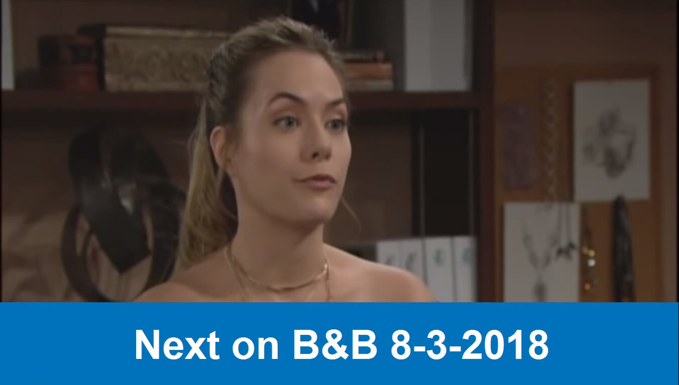 Next on The Bold and the Beautiful 8-3-2018