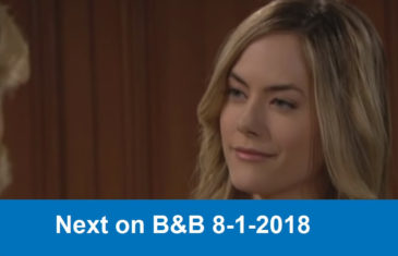 Next on The Bold and the Beautiful 8-1-2018
