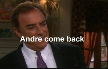 Days of Our Lives Spoilers : Andre come back