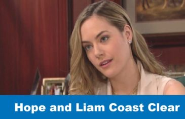 The Bold and the Beautiful Spoilers: Hope and Liam Coast Clear