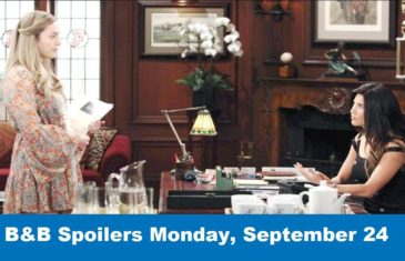 The Bold and the Beautiful Spoilers Monday, September 24