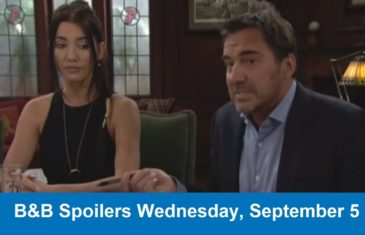 The Bold and the Beautiful Spoilers Wednesday, September 5