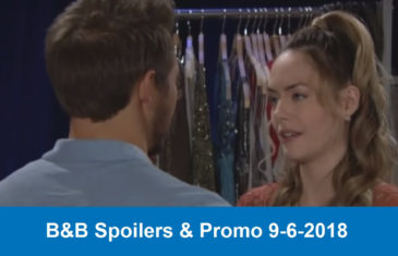The Bold and The Beautiful Spoilers & Promo 9-6-2018