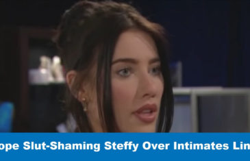 Bold and Beautiful spoilers: Hope Slut-Shaming Steffy Over Intimates Line