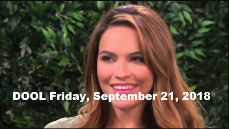 Days of Our Lives Spoilers for Friday, September 21, 2018