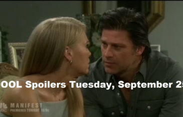 Days of Our Lives DOOL Spoilers for Tuesday, September 25, 2018