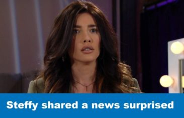 The Bold and The Beautiful Steffy shared a news surprised,PREGNANT