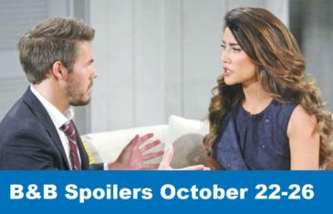The Bold and the Beautiful Spoilers October 22-26