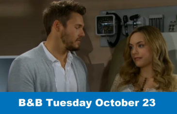 The Bold and the Beautiful Spoilers Tuesday October 23