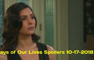 Days of Our Lives Spoilers 10-17-2018