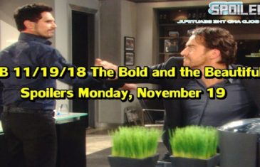 The Bold and the Beautiful Spoilers Monday November 19