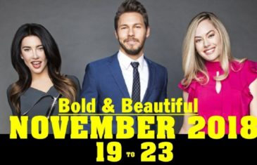 The Bold and the Beautiful Spoilers November 19-23