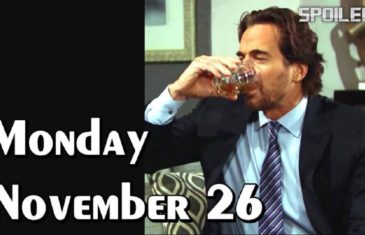 The Bold and the Beautiful Spoilers Monday November 26